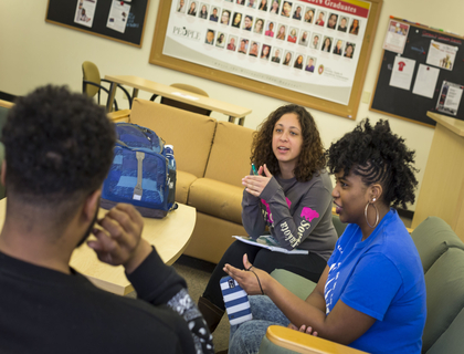 Students in a Discussion